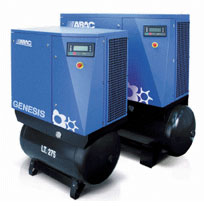 ABAC Genesis Screw Air Compressors