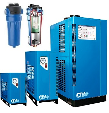 CDA HiLne Compressed Air Dryers and Filters