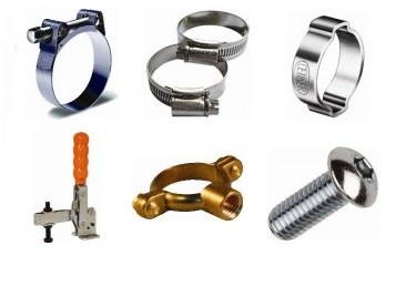 Clamps, Clips & Fasteners