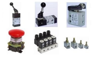 Pneumatic Valves, Switches & Sensors