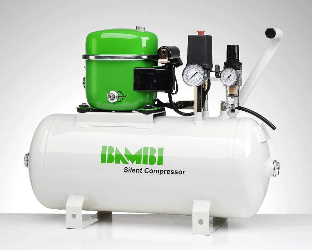 Lubricated Silent Air Compressors - Professional MD