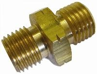 Equal Connector   Brass Fittings  Metric Thread