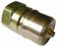 ISO-B Carbon Steel  Plugs   Hydraulic Quick Release Coupling -  BSPP Female Thread