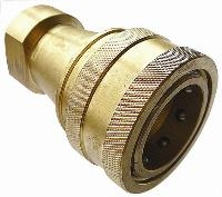 ISO-B Brass Couplings   Hydraulic Quick Release Coupling -  Female BSPP Thread
