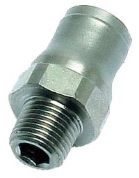 Male Stud   Legris LF3600 Industrial and Food Applications  BSPT Thread