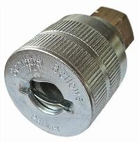 """Genuine Schrader   PNEUMATIC QUICK RELEASE COUPLINGS -  """"BSPP Female, BSPT Male"""""""