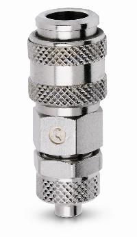 BE-21 Quick Fit   PNEUMATIC QUICK RELEASE COUPLINGS -  Quick Fit Tube Connection Mini Couplers
