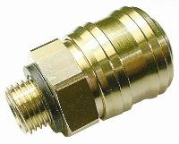 "BE25B-Brass Euro Couplings   PNEUMATIC QUICK RELEASE COUPLINGS -  ""BSPP Male, BSPP Female & Hosetail"""