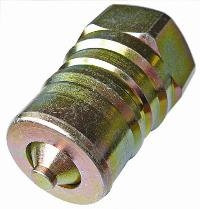ISO-A Plug   Hydraulic Quick Release Coupling -  BSPP Female Thread