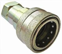 ISO-B Carbon Steel Coupling   Hydraulic Quick Release Coupling -  BSPP Female Thread