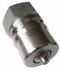 ISO-B Stainless Steel Couplings   Hydraulic Quick Release Coupling -  Female BSPP Thread