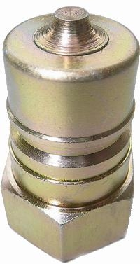 ISO-A Plug Steel   Hydraulic Quick Release Coupling -  BSPP Female Thread