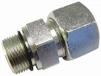 Male Stud-Form E - Metric   Waltersheid Hydraulic Compression Fittings  Metric Male Thread
