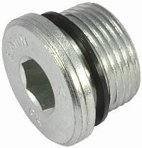 Blanking Plug-Male Metric Thread   Waltersheid Hydraulic Compression Fittings  With Internal Hexagon