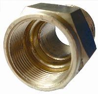 Straight Male Adaptor   Brass Compression Fittings - Interchange Norgren/Enots  Metric