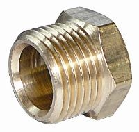 Tubing Nut   Brass Compression Fittings - Interchange Norgren/Enots  Metric