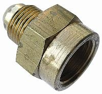 Nippled Adaptor   Brass Compression Fittings - Interchange Norgren/Enots  Metric