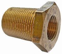 Bulkhead Connector   Brass Compression Fittings - Interchange Norgren/Enots  Imperial