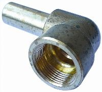 Stem Elbow Connector   Brass Compression Fittings - Interchange Norgren/Enots  Metric