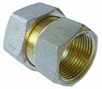 Stud - Female BSPP   Brass Compression Fittings - AIGNEP  BSPP Female Thread