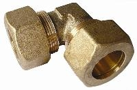 Equal Elbow - Tube   Brass Compression Fittings - AIGNEP