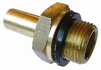 Stand Pipe Adaptor - Tube - Male BSPP   Brass Compression Fittings - AIGNEP  BSPP Male Thread