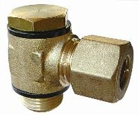 Single Banjo - Tube - Male BSPP   Brass Compression Fittings - AIGNEP  BSPP Male Thread