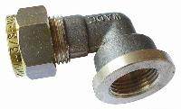 Female Stud Elbow   Brass Compression Fittings - WADE Imperial  BSPP Female Thread
