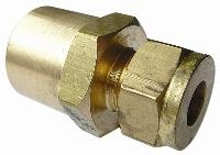 Female Pressure Gauge   Brass Compression Fittings - WADE Imperial  BSPP Female Thread
