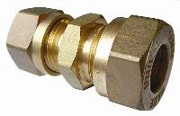 Reducing Coupling   Brass Compression Fittings - WADE Metric