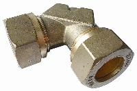 Equal Elbow   Brass Compression Fittings - WADE Metric