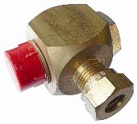 Single Banjo Coupling   Brass Compression Fittings - WADE Metric  BSPP Male Thread
