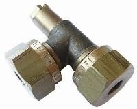 Test Point Elbow   Brass Compression Fittings - WADE Metric