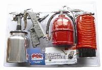 5 Piece Metal Accessory Kit   PCL Air Technology  Paint Spray Gun  Paraffin Gun