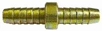 Hose Repair Connector   Brass Fittings  Steel Plated