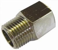 Equal Connector   Brass Fittings  Male Metric/BSPT x Female Metric/BSPP Thread