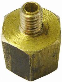 Reducer   Brass Fittings  Male Metric/BSPT x Female BSPP Thread