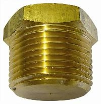 Hexagonal Plug   Brass Fittings  Male NPT Thread