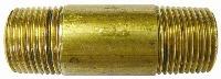 Barrel Nipple   Brass Fittings  NICKEL PLATED