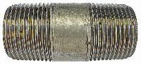 Barrel Nipple   Malleable Iron Fittings  Galvanised