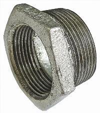 Reducing Bush   Malleable Iron Fittings  Galvanised