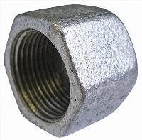 Hexagonal Cap   Malleable Iron Fittings  Galvanised