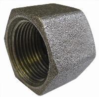 Hexagonal Cap   Malleable Iron Fittings  Black