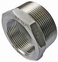 Bush   316 Stainless Steel  BSPT Male Thread