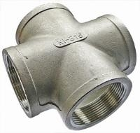 Equal Cross   316 Stainless Steel  BSPP Female Thread
