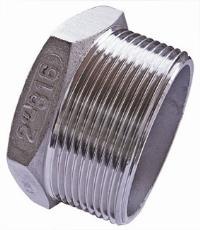 Hexagon Plug   316 Stainless Steel  BSPT Male Thread