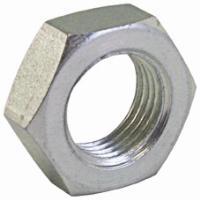 Lock Nut   Hydraulic Adaptors  Carbon Steel - Zinc Silver Finish