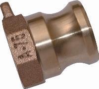 Female Threaded Plug   Cam & Groove  Brass