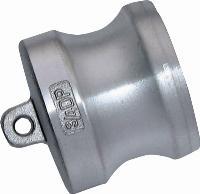 Dust Plug   Cam & Groove  316 Stainless Steel