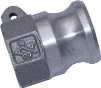 Female Plug   Cam & Groove  Aluminium